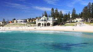 Perth's Cottlesloe Beach.