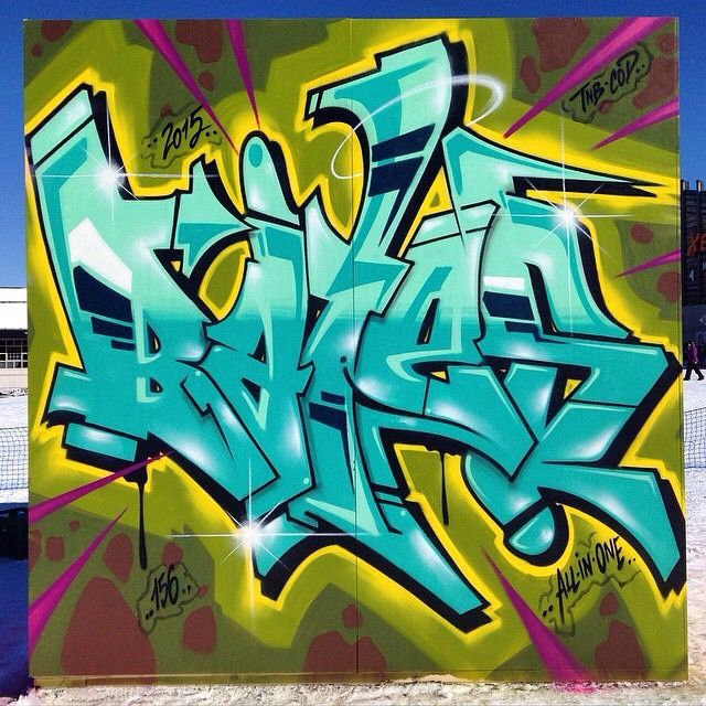 #Graffiti #art by BATES https://www.etsy.com/shop/urbanNYCdesigns?ref=hdr_shop_menu
