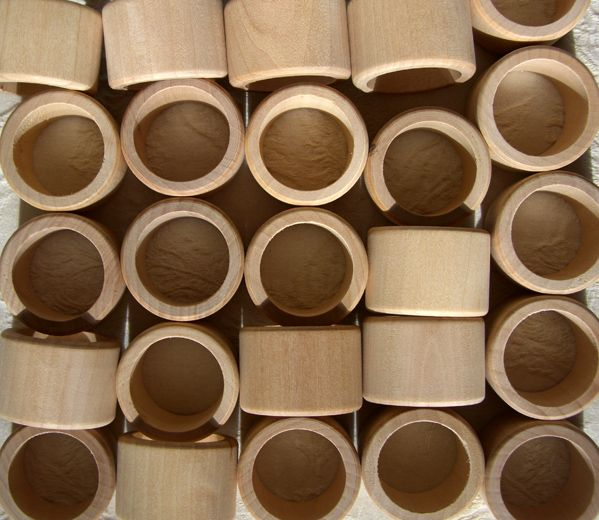 "11.75 SALE PRICE! Natural Wood Napkin Rings 25.. Smooth Napkin Rings. 1-1/8"" band width, 1-1/4"" inside diameter, 1-5/8"" outside diameter. Turn..."
