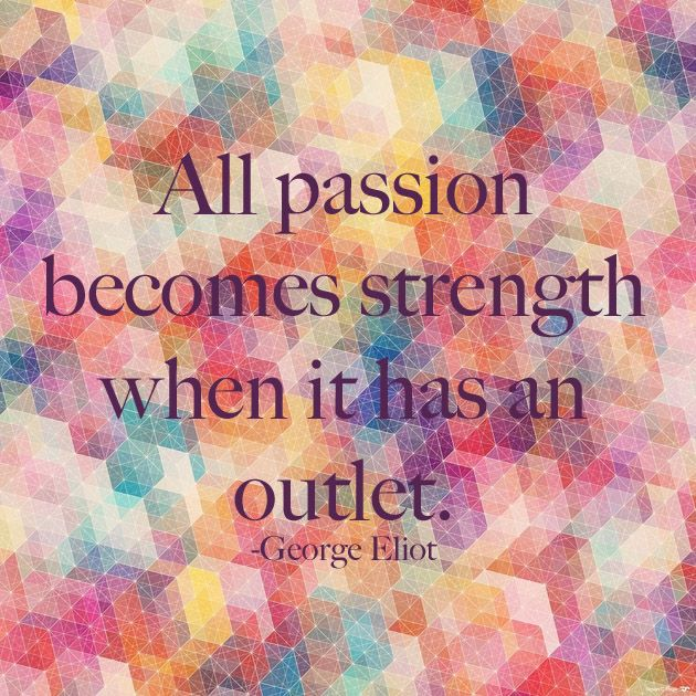 passion by george eliot