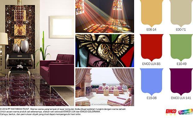 Warna-Warna Liturgi #Inspirasi #Warna http://matarampaint.com/detailNews.php?n=128