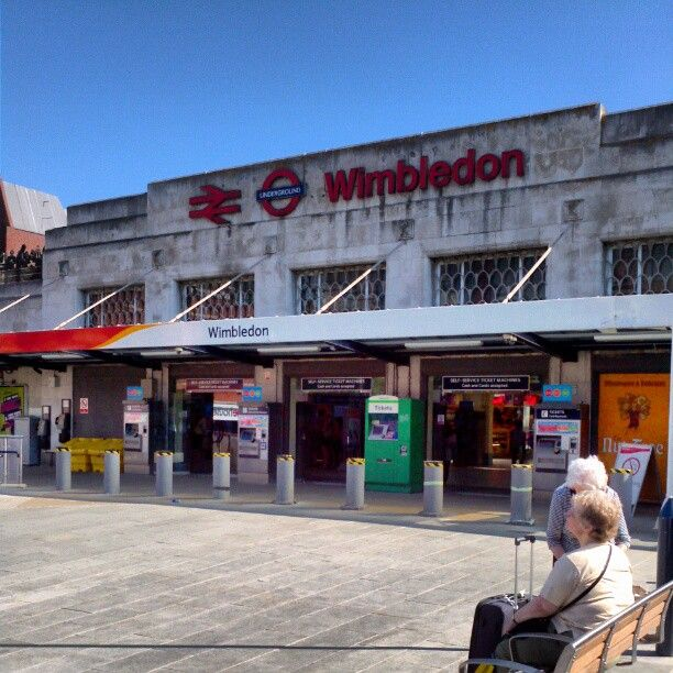 Wimbledon Railway Station (WIM) in London, Greater London