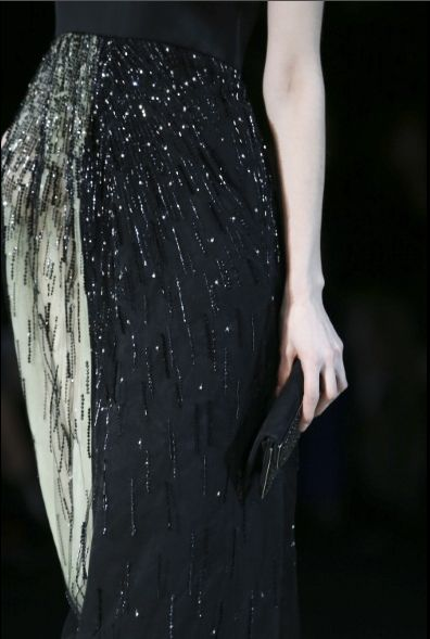 Giorgio Armani Fall 2014-2015 Ready to Wear FWMilán (detalle)
