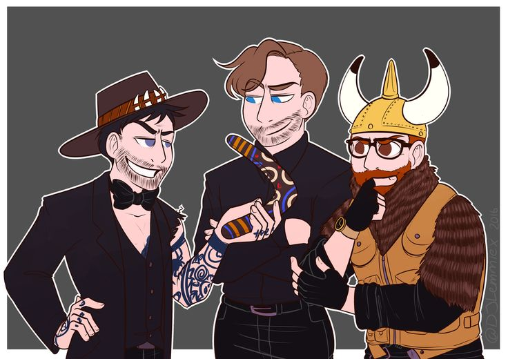 Eleven Little Roosters, Geoff, Ryan and Jack