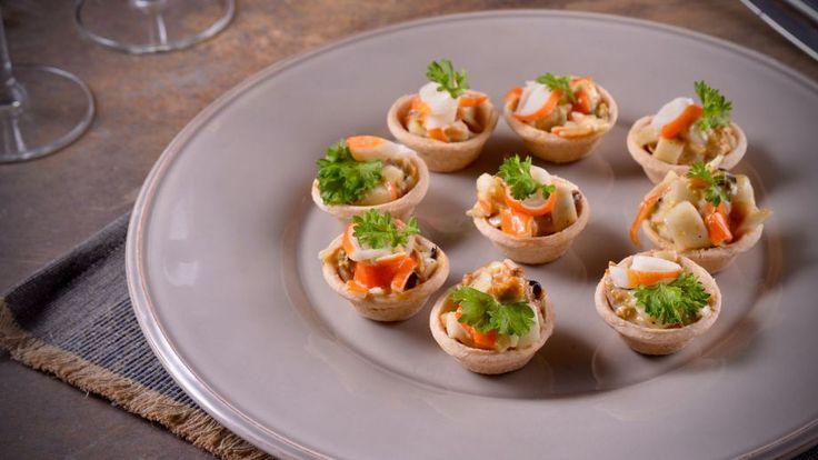 Tartaletas de falso centollo receta canal cocina un for Canal cocina tapas