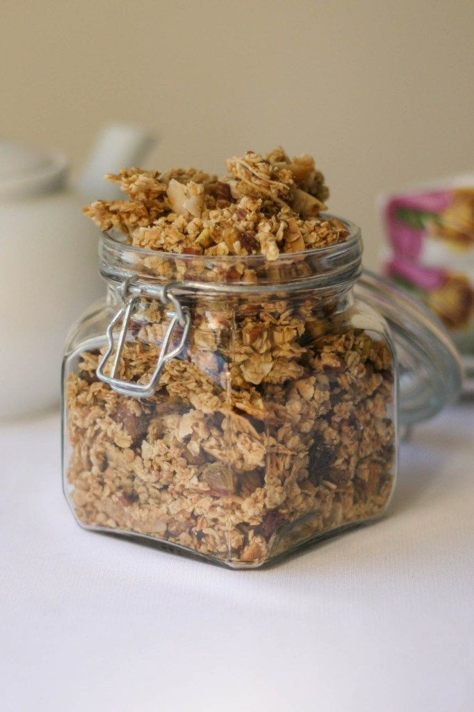 Granola (Toasted Muesli) - Delicious, dairy free homemade muesli - theres nothing like it. Check out our easy recipe!