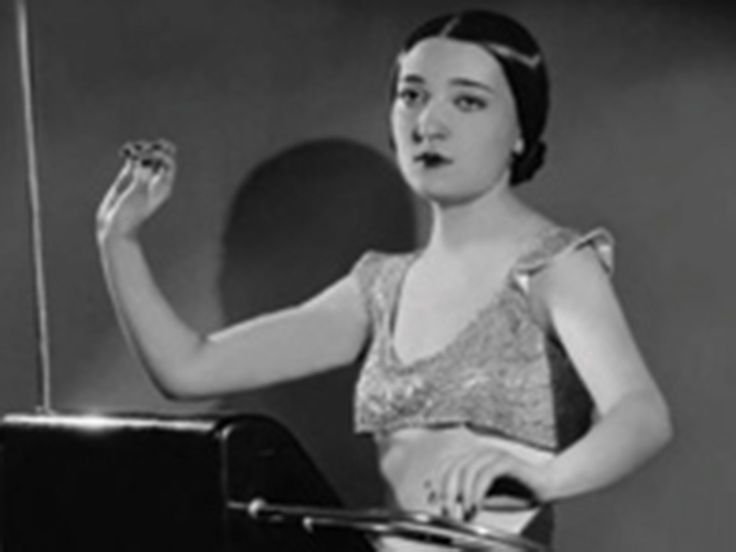 Clara Rockmore ~ master of the Theremin (instrument that inspired electronic music in the world and led to the first synthesizer.)