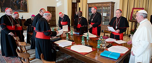 "L'Osservatore Romano, Pope's meetings with the ""Council of Cardinals"" begun"