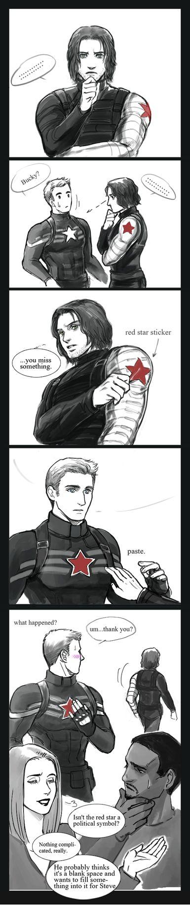 Natasha - SYMBOLISM......Ohhh even this gives me Bucky feels