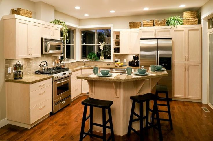 Kitchen Remodeling Ideas On A Small Budget ~ http://lovelybuilding.com/kitchen-remodeling-for-minimalist-house-design/