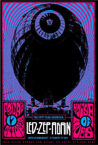 Led Zepelin poster