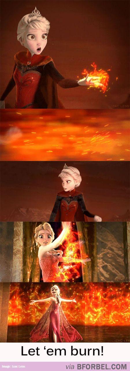 Elsa, fire