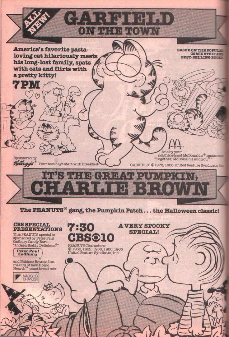 doktorhander: TV Guide Halloween show ads