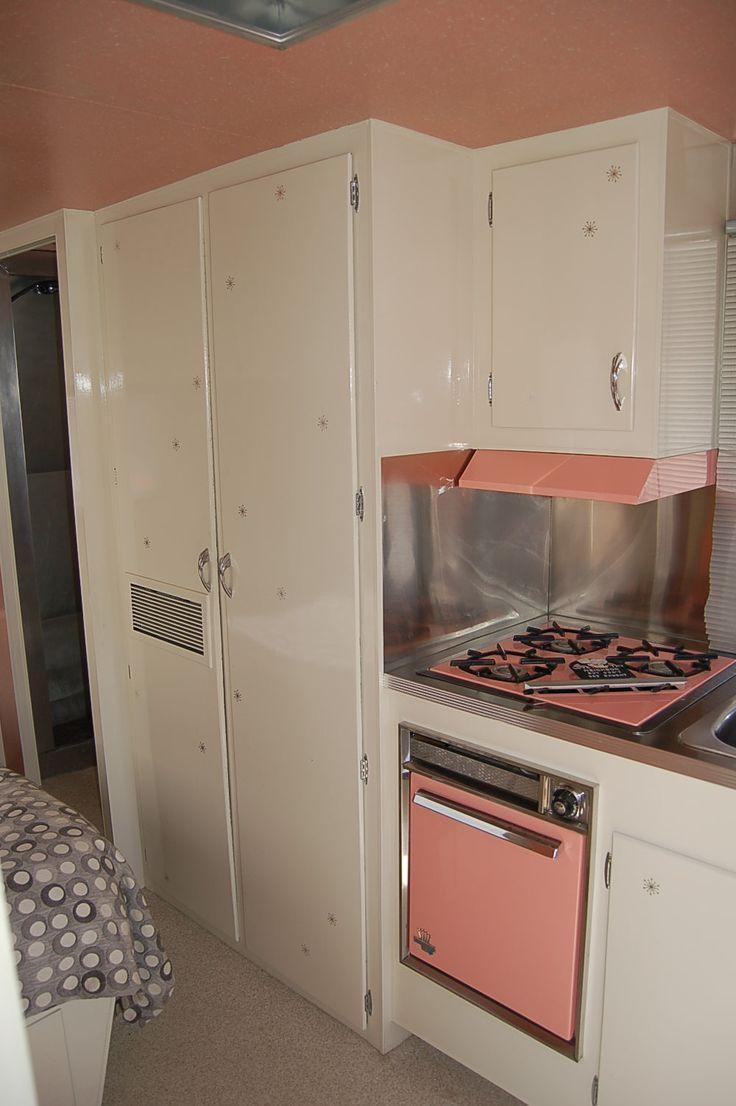 316 best Pink Kitchens images on Pinterest | Pink kitchens, Retro ...