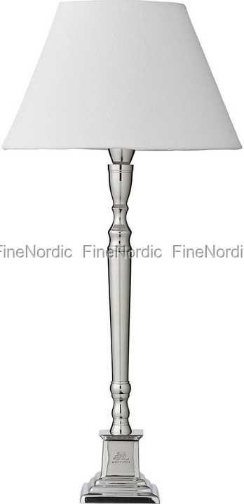 Lene Bjerre Bordslampa Carmina - Silver - H 45 cm - utan Skärm
