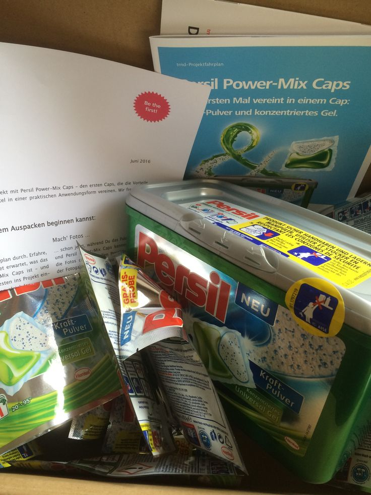 Persil Power-Mix Caps  #Produkttest #TRND #Persil