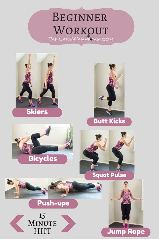 New to exercise? Try this beginner workout as a way to get started today! Join us at PanckeWarriors for more beginners workouts and fitness plans!