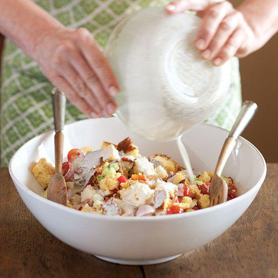 Cornbread Salad - Cooking with Paula Deen