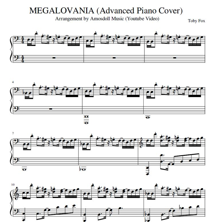 Piano Sheet Music Midi