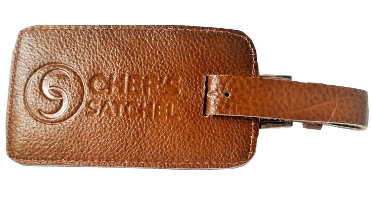 Leather Tags | Chef Satchel