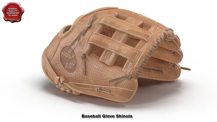 3d model of Baseball Glove Shinola by 3d_molier International