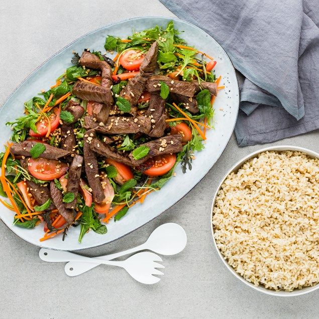 Tasty beef salad with mouth-watering Vietnamese flavours