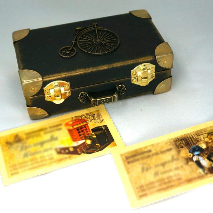 ВНИМАНИЕ! Этот подарок изготавливается вручную в течении 5-7 дней. Пожалуйста учитывайте это при заказе. За более детальной информацией обращайтесь к менеджеру по телефонам.Изысканная купюрница ручной работы в подарок Ретро-Велосипед для оформления денежного подарка женщине