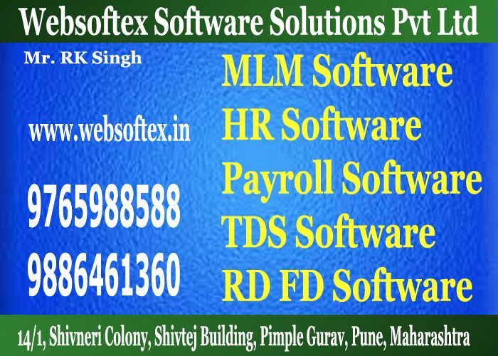 RD (Recurring Deposit) / FD (Fixed Deposit) Software offered by Websoftex Software Solutions Pvt. Ltd will provide you an immense numbers of facilities. It can make the process of agreement registration, agreement maturity calculation and the calculation of commission highly swift and reliable. For more detail log on to: http://websoftex.in/microfinance_software.php