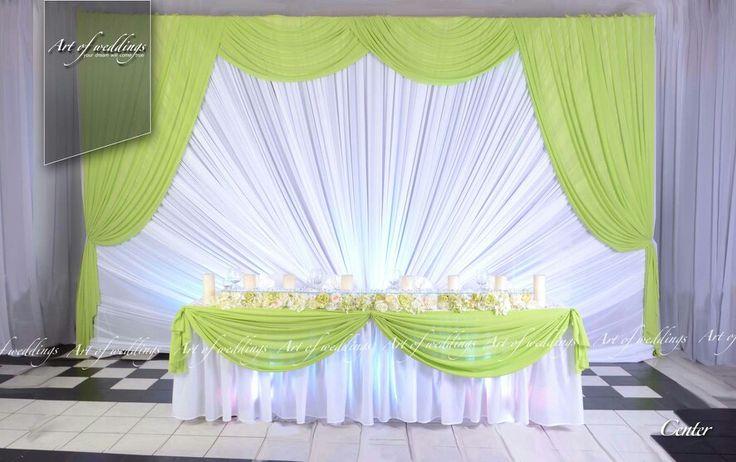 Wedding presidium by artofweddings.lv