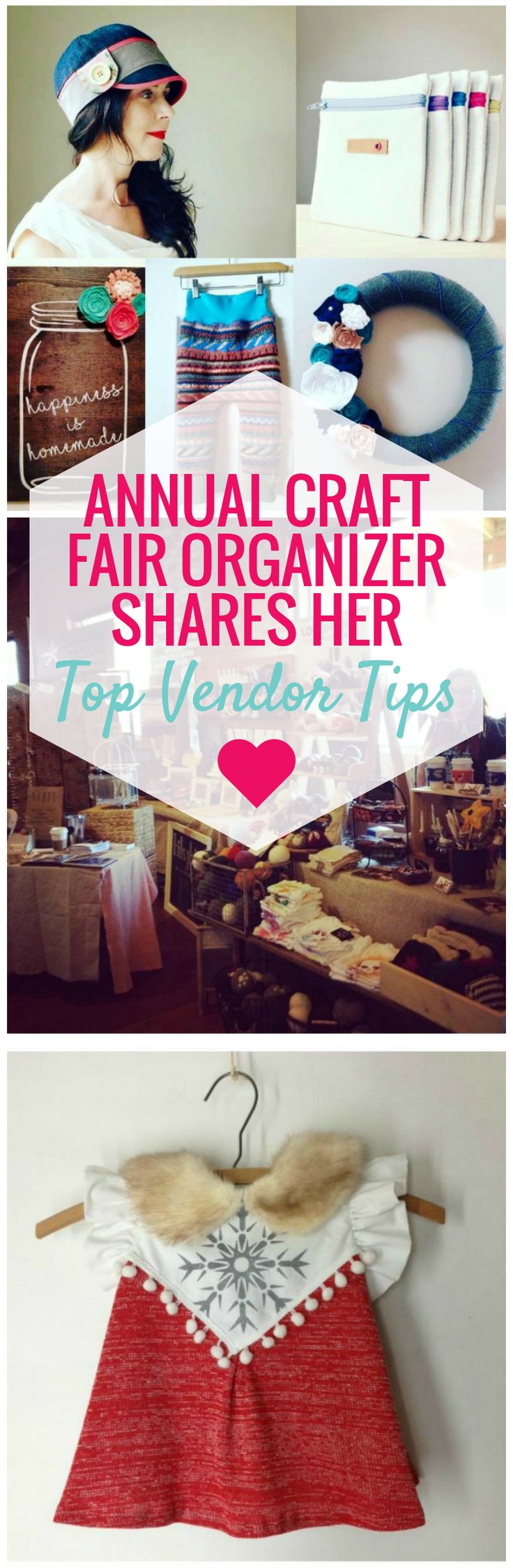 A popular craft fair that has been happening coast to coast for the past 4 years. They share their best tips for vendors to get the most out of craft fairs.