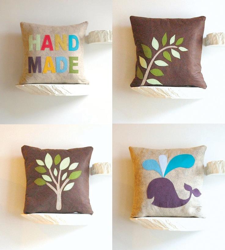 Felt Pillows Nice Craft Pinterest Costura