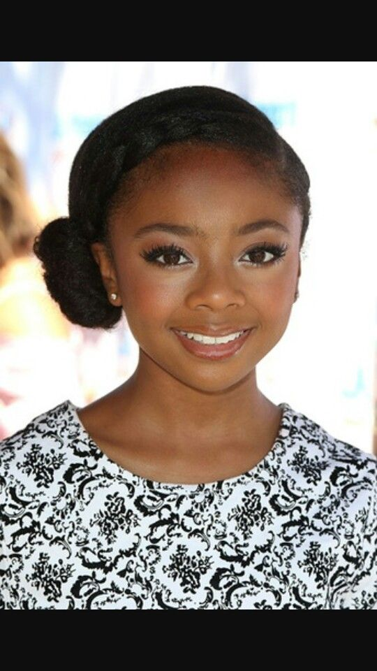 Skai Jackson...so pretty! Love her and everyone on Bunk'd and everyone who was on Jessie!