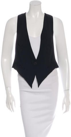 Isabel Marant Button-Up Vest
