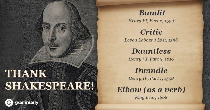 Essay of william shakespeare