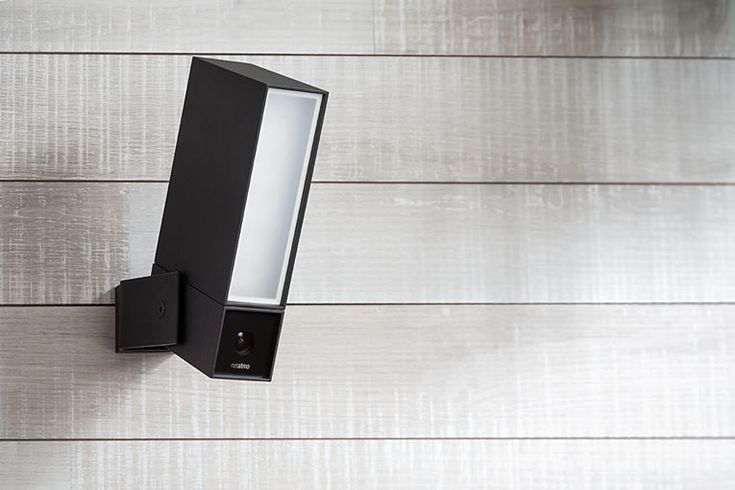 Netatmo Smart Wireless Security Camera & Flood Light Notifies You When Something Happens  #camera #security Video technology has come a long way in a relatively short amount of time, this is especially noticeable in regards to security cameras. Just a few ye...