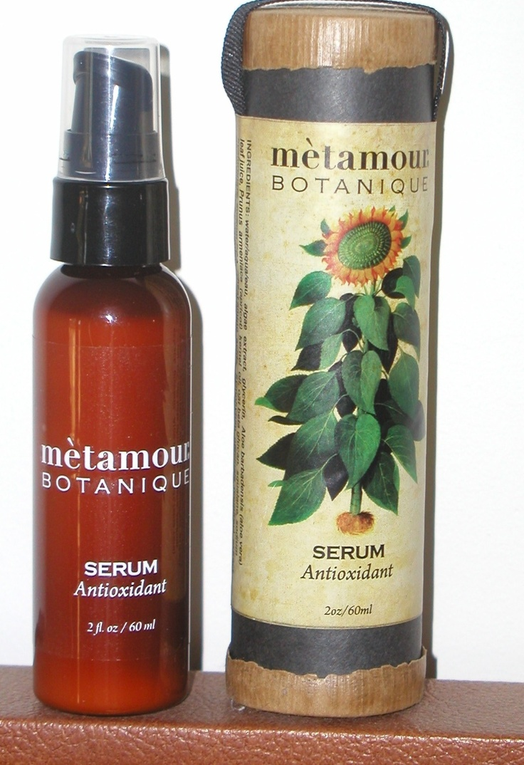 ANTIOXIDANT SERUM with Aloe Vera, Shea, Sunflower seed oil, apricot kernel, oat beta glutan, rose, citrus, ylang ylang, and powerful Vitamin E, the most fat soluble antioxidant for your body! www.metamourskincare.com