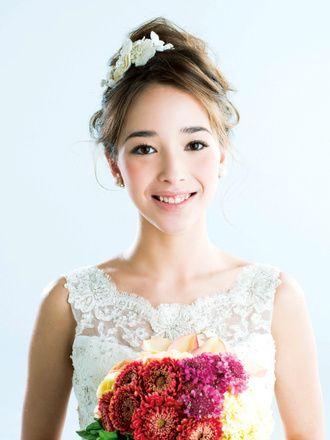 ナチュラルメイクが美しい♪濃すぎないナチュラル感が◎結婚式の花嫁のおすすめアイメイク♡参考にしたいウェディング・ブライダル♡