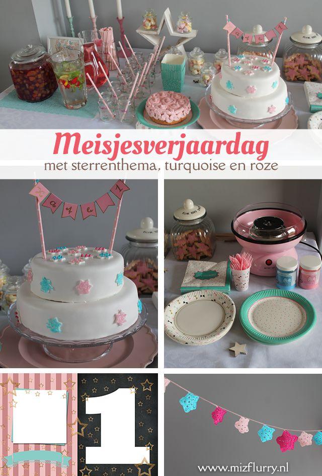 Ideeën voor een eerste meisjes verjaardag met het thema twinkle twinkle little…
