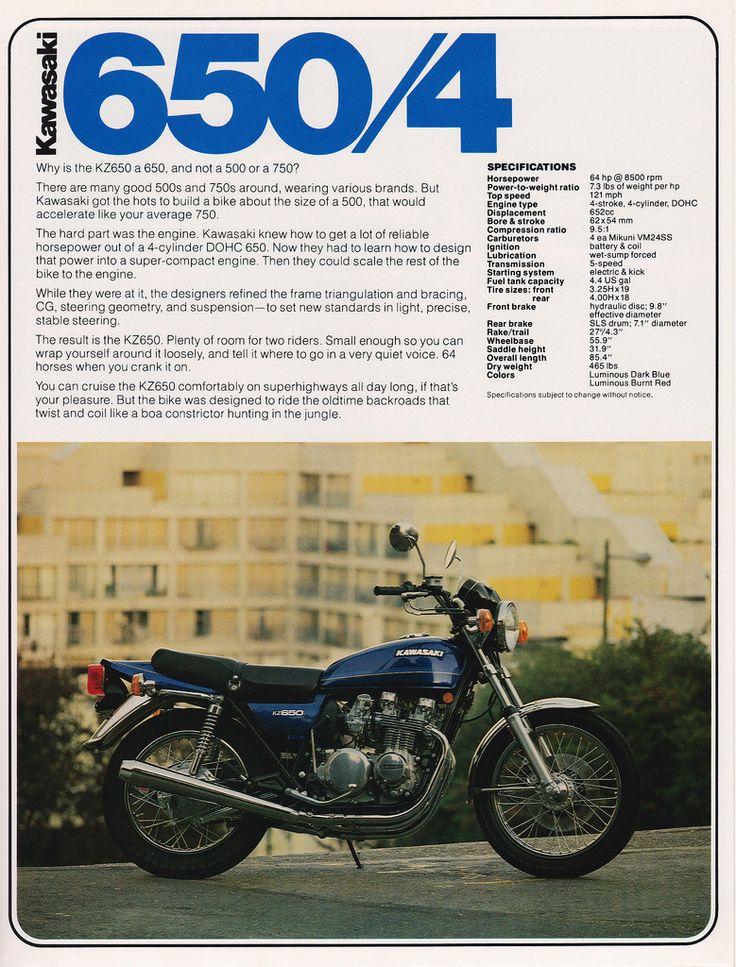 340 best ujm universal japanese motorcycle images on pinterest 78 kawasaki kz6501 fandeluxe Gallery