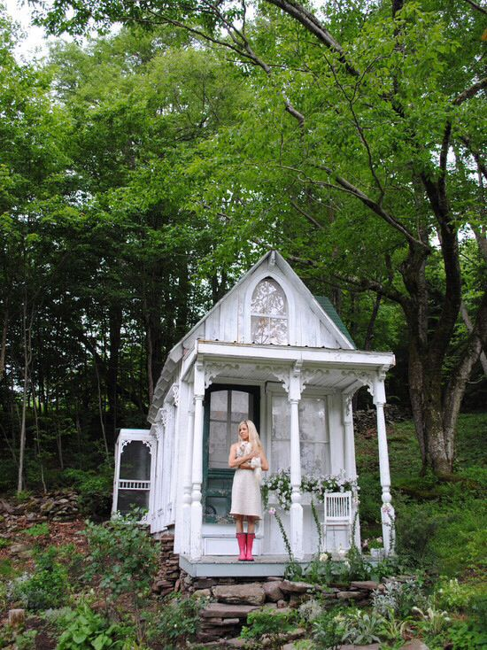Delightful Shabby Shed