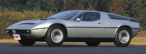 Maserati Bora and Merak 1971