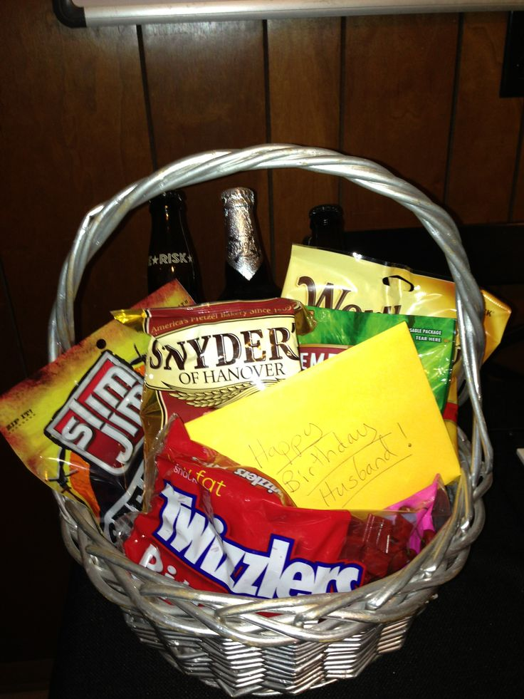 Birthday Gift Basket For Husband : Best images about gifts for boyfriend on valentines day