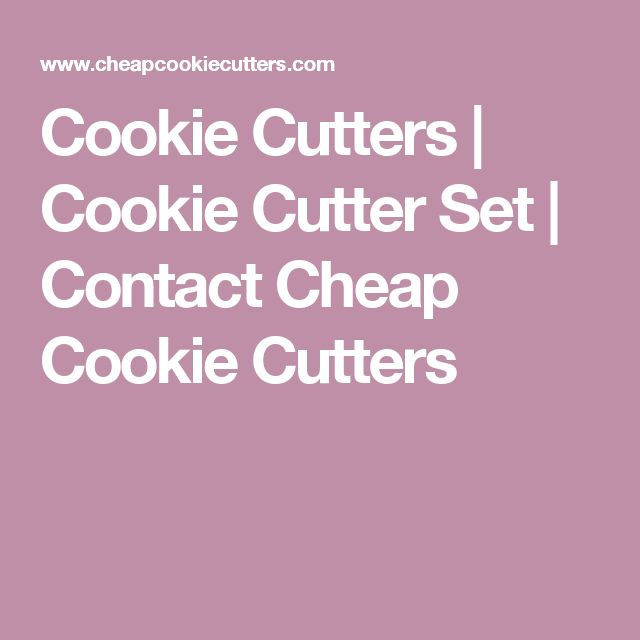 Cookie Cutters | Cookie Cutter Set | Contact Cheap Cookie Cutters