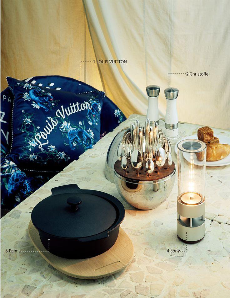 ラグジュアリーにグランピングを愉しむ──紳士淑女のキャンプをグラマラスに彩る準備|インテリア・雑貨|GQ JAPAN