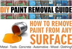 This is a brief but helpful paint removal guide. It is for the most common paint removal combinations such as metal, wood, and concrete. The few basic methods (ways) to remove paint is either with a paint scraper, sand paper, heat gun, or a chemical stripping compound designed to dissolve paint. Below we will give …