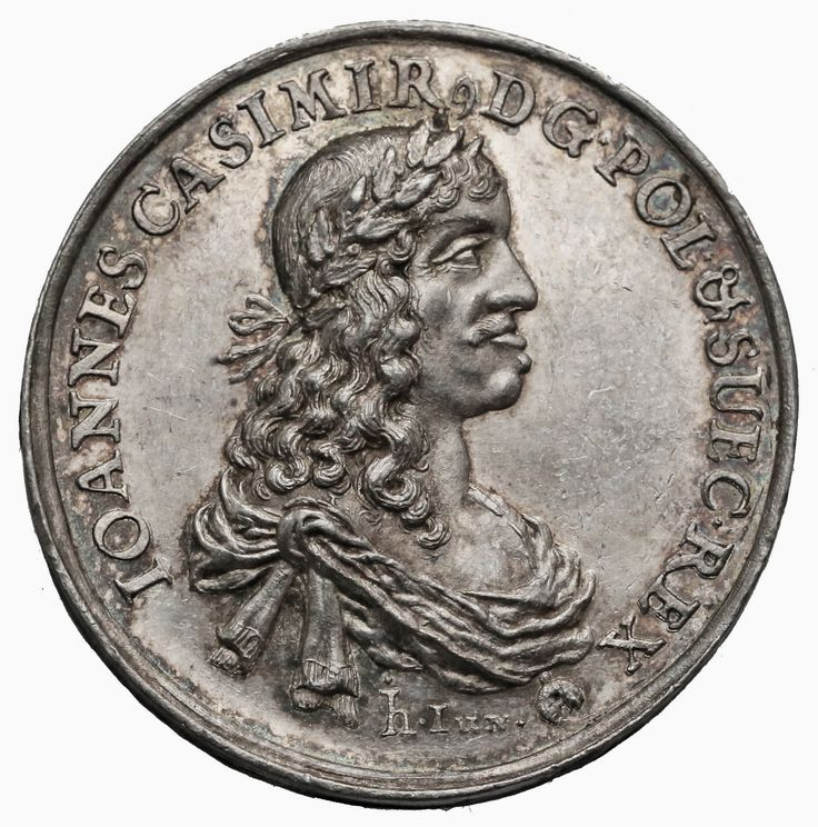 Medal with bust of John II Casimir commemorating the Peace Treaty of Oliwa by Johann Höhn, 1660, Private collection