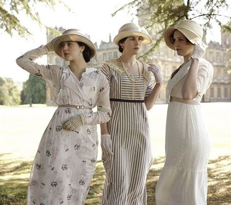 "My children asked me the other day why I am so hooked on Downton Abbey.   I paused a second and realized thus said to them.   ""Because it was a time of civilized life.   Because I miss when women were ladies and men were gallant!      Common Ground"