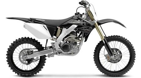 Honda CRF 250r motocross dirt bike
