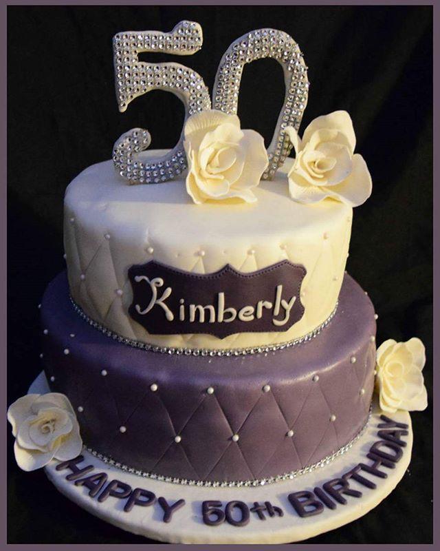 50th Birthday Cake Birthdaycake Fondant Instacake Food L4l