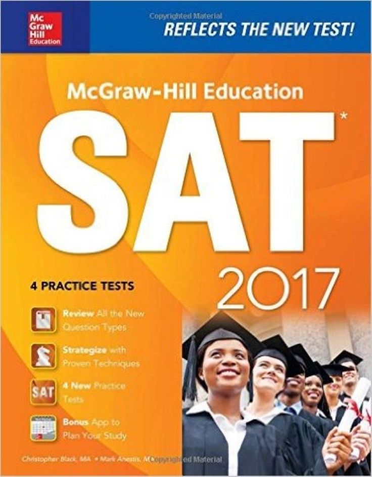 McGraw Hill Education SAT 2017 Edition(Mcgraw Hill's Sat) 12th Edition Paperback